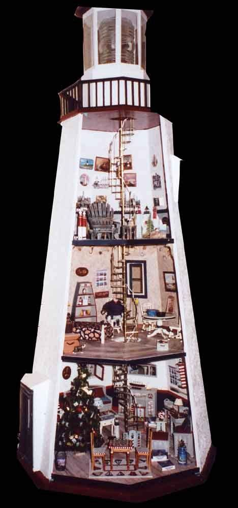 miniature lighthouse interiornow