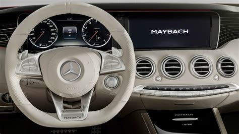 mercedes maybach   cabriolet interior youtube