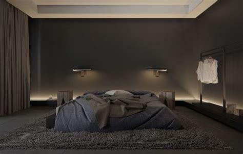 All Black Bedroom by 27 Stylish Bedrooms With Black Walls Digsdigs