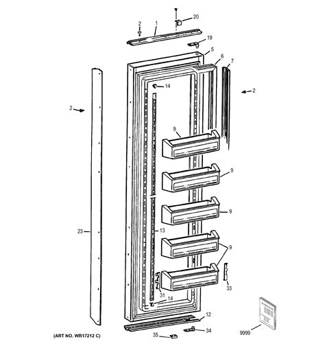 ge ziscmc side  side refrigerator parts sears
