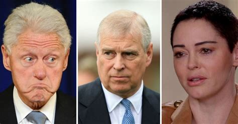 'Now get Clinton & Prince Andrew' says Rose McGowan ...