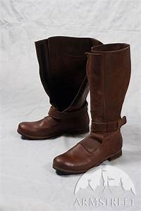 Renaissance, High, Leather, Boots, For, Sca, And, Reenacment, For
