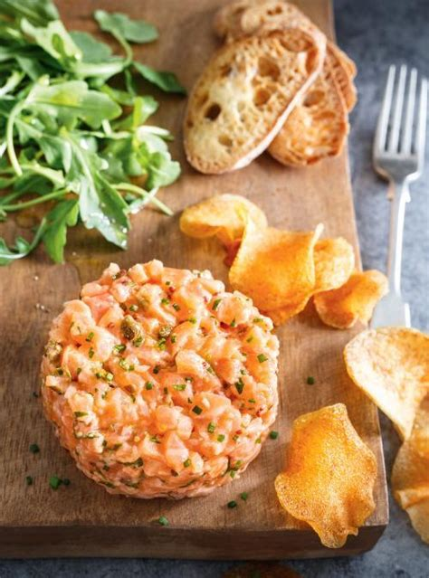 la cuisine sans sel tartare de saumon le meilleur ricardo