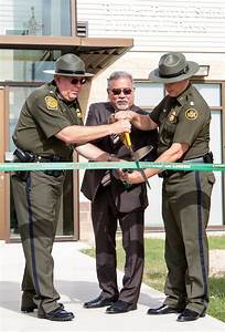 Atkins celebrates completion of new U.S. Border Patrol ...