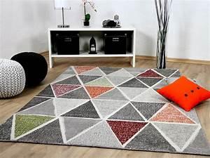 Teppich Bunt Modern : designer teppich sevilla modern grau bunt prisma teppiche designerteppiche sevilla teppiche ~ Frokenaadalensverden.com Haus und Dekorationen