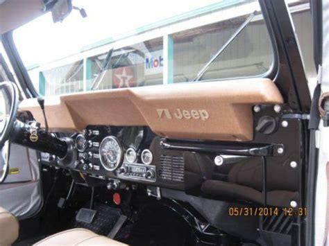 jeep golden eagle interior buy used 1977 cj7 golden eagle cj7 304 automatic levi