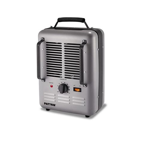 Small Space Heater Fan Blow Electric Portable Utility Room