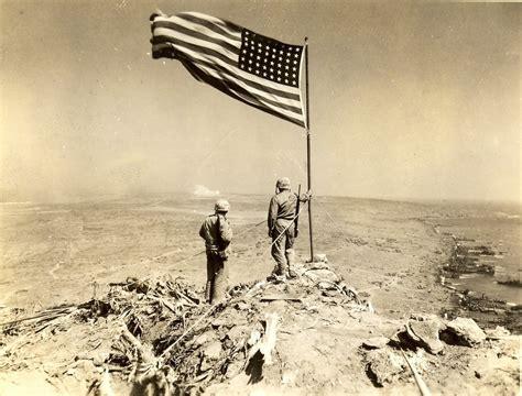 Raised Flag On Mount Suribachi, 1945
