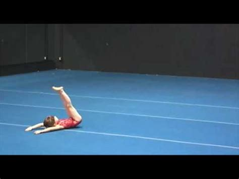 Usag Level 3 Floor Routine 2012 by Gymnastic Floor Routines For Beginners Gymnastics