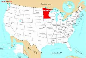 Where Is Minnesota Located  U2022 Mapsof Net