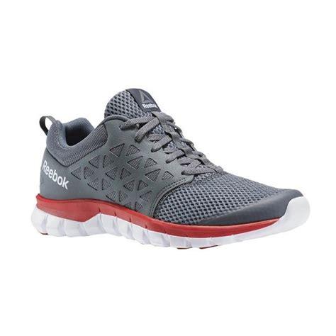 cek harga baru reebok mens casual sepatu loafer sepatu baru fashion jogger shoes putih dengan