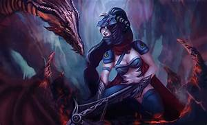 Dragonslayer Vayne | LoL Wallpapers