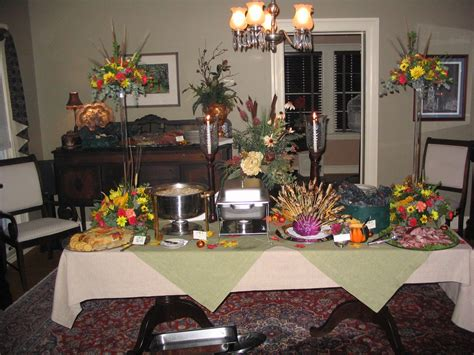 how to decorate a buffet table for a party creative buffet style table setting 23 upon interior