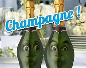Image Champagne Anniversaire : champagne carte anniversaire anim e tous mes ~ Medecine-chirurgie-esthetiques.com Avis de Voitures