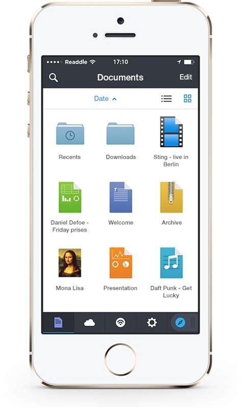 readdles documents  focuses  ios  redesign  app