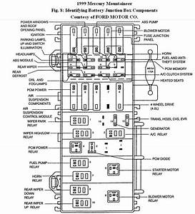 2002 Mercury Cougar Fuel Pump Wiring Diagram