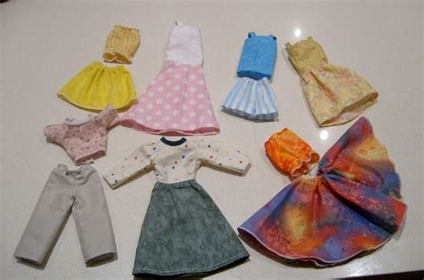 Barbie Doll Clothes Patterns And
