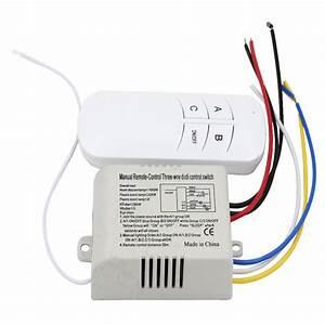 220v Three  Manual Remote Control