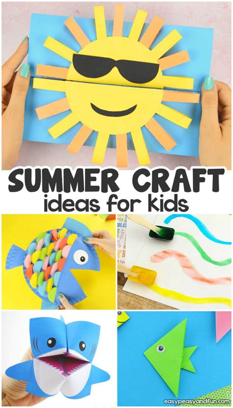 summer crafts easy peasy and 414 | Summer crafts for kids.