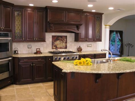 primitive decorating ideas wood floors kitchen with cherry