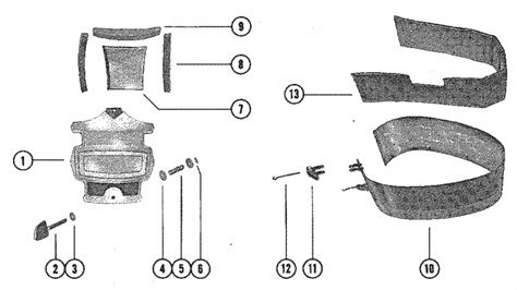 Mercury Marine Cowling Front Cover Parts