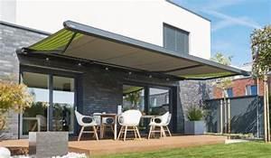 Markisen fur terrasse und balkon smela metallbau for Markise balkon mit tapeten modern