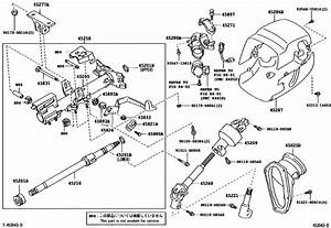 Steering Column  U0026 Shaft For 2000   Emina   Lucida Acr30