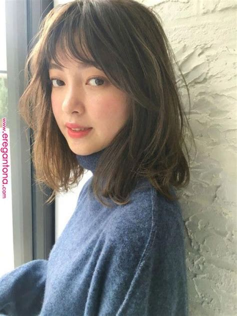 17 Gorgeous Long Hair with Side Bangs for 2019 Asian