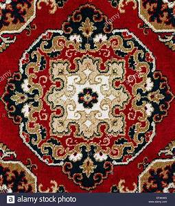 Red oriental persian carpet texture background stock photo for Persian carpet texture red