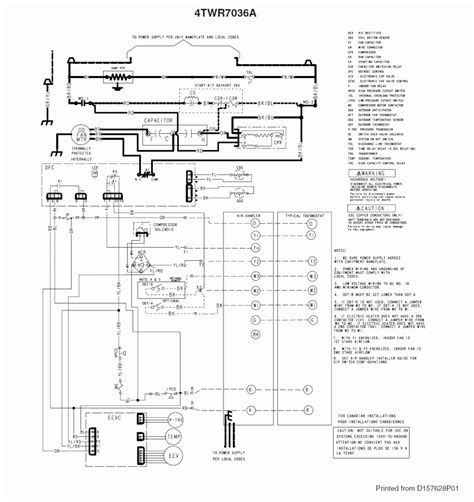 trane xr13 heat parts diagram wiring diagrams