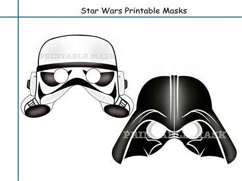 Star Wars Clone Wars Masks Printable