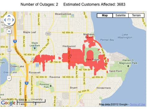 seattle city light outage two blown transformers heard to be blamed for ne seattle