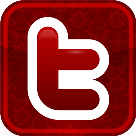red twitter icon images twitter circle icon red twitter logo  black  red twitter icon