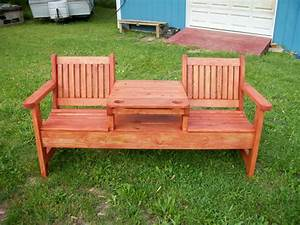 26 best outdoor bench ideas themescompany for Bench outside