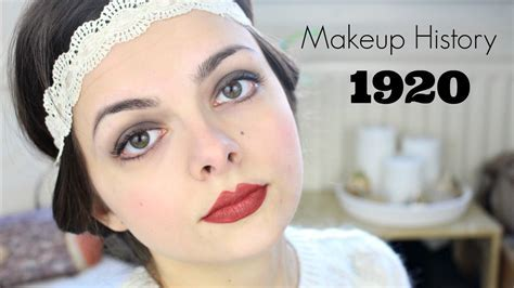 Makeup History: 1920's   YouTube