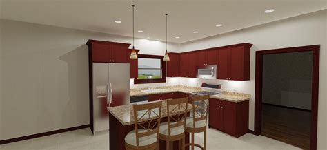 Recessed Lighting Layout Kitchen
