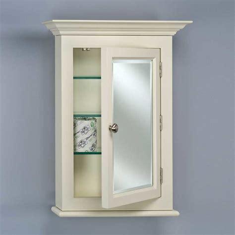 mirrored medicine cabinet afina wilshire 22 quot semi recessed mirrored medicine cabinet