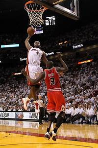 LeBron James Photos Photos - Chicago Bulls v Miami Heat ...