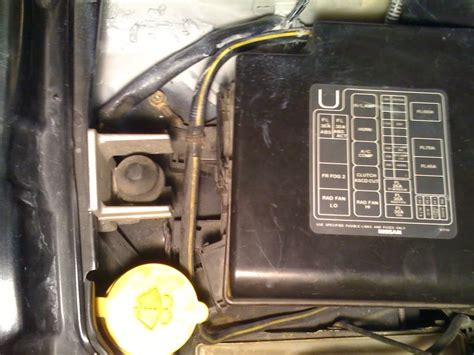 S14 Fuse Box On Side Of by Moving Aside Fuse Box Zilvia Net Forums Nissan 240sx