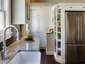 8 small kitchen design ideas to try hgtv for Kitchen design for small areas