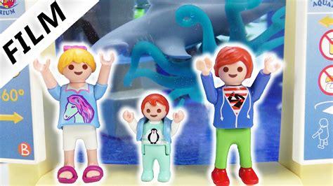 Playmobil Film Deutsch  Familie Vogel Im Meeresaquarium