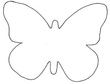 butterfly template  garland card making pinterest
