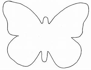 butterfly template for garland card making pinterest With butterfly paper cut out template