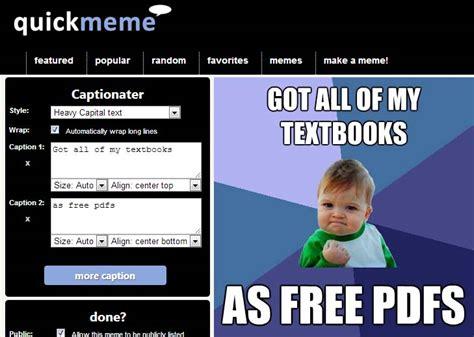 Crear Un Meme Online - adictamente 10 buenas p 225 ginas para crear memes