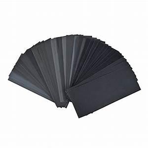 Papier Abrasif à L Eau : dedc lot de 42 papier de verre papier abrasif 228x91mm ~ Dailycaller-alerts.com Idées de Décoration