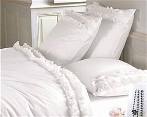Parure De Lit Romantique : linge de lit ing nue de linvosges ~ Teatrodelosmanantiales.com Idées de Décoration