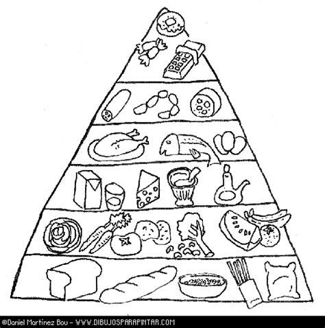 piramides de alimentos saludables  imprimir  colorear colorear imagenes