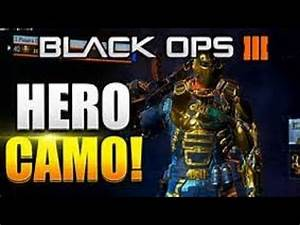 CoD Bo3 unlock all gold hero armor glitch!!! - YouTube