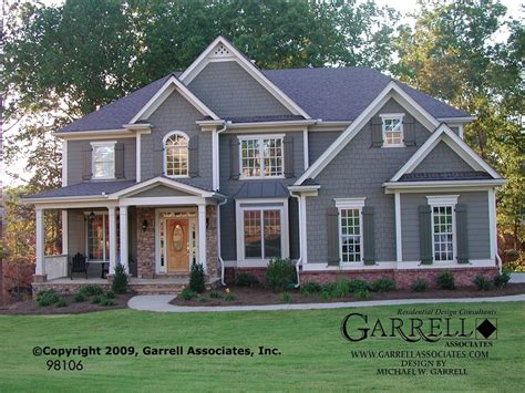style house plans traditional craftsman style house plans unique garrell