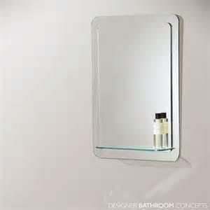 designer bathroom mirrors bathroom origins katerini designer bathroom mirror with glass shelf 500mm el katerini